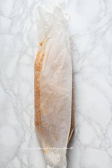 Formare il polpettone - Ricetta Polpettone di zucca