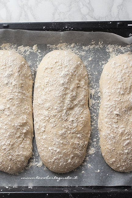 Pane lievitato - Ricetta Pane fatto in casa