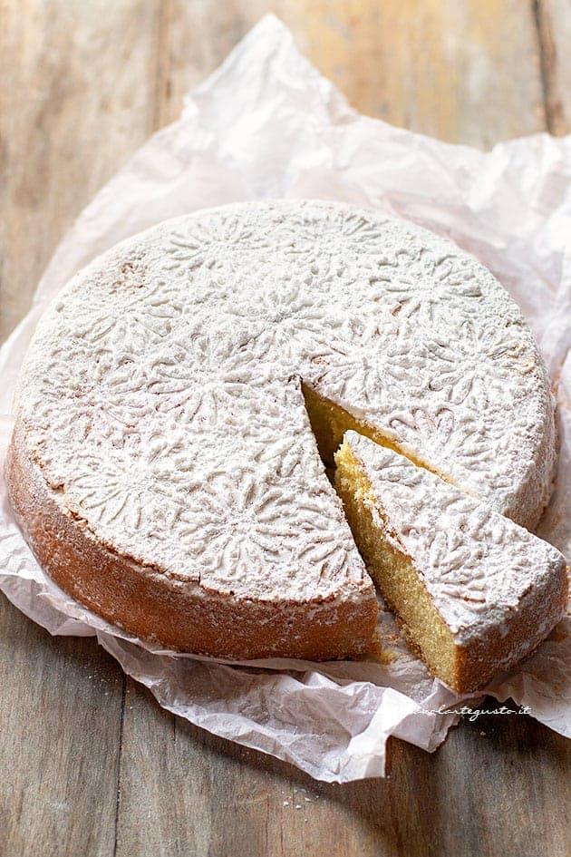 Torta Margherita Semplice e Soffice (ricetta Classica Buonissima!)