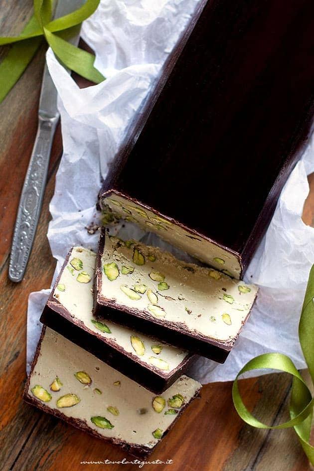 torrone al pistacchio (morbido) - Ricetta Torrone al pistacchio