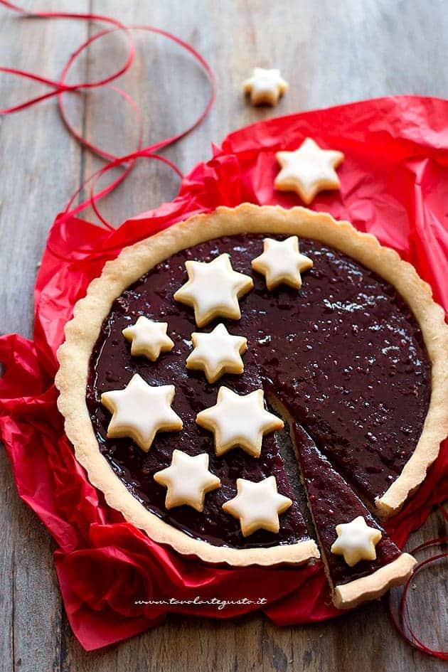 Crostata natalizia - Ricetta Crostata natalizia