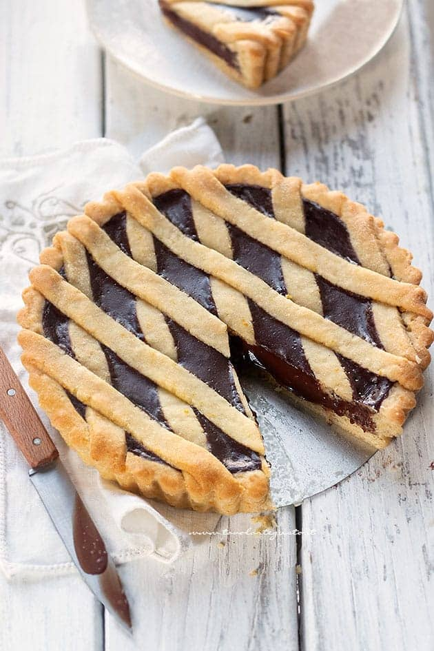 Crostata Vegana al Cioccolato (crostata Senza Uova, Burro e Latte)