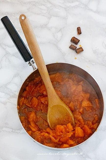 la marmellata ridotta in composta - Ricetta Marmellata di zucca