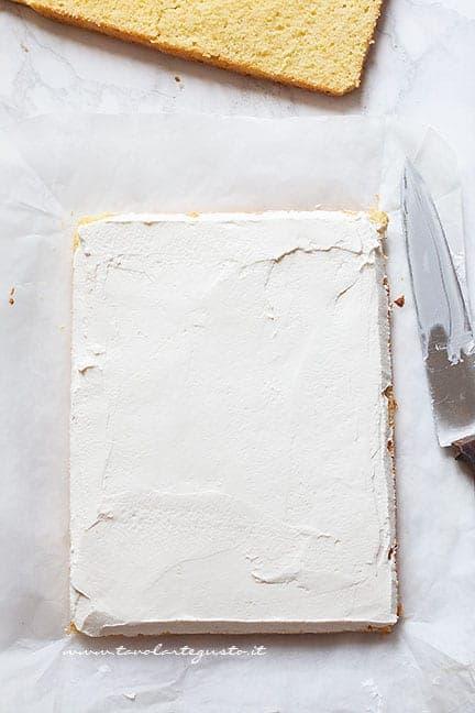 Farcire con crema al latte - Ricetta Albero di Natale di Tortine Paradiso