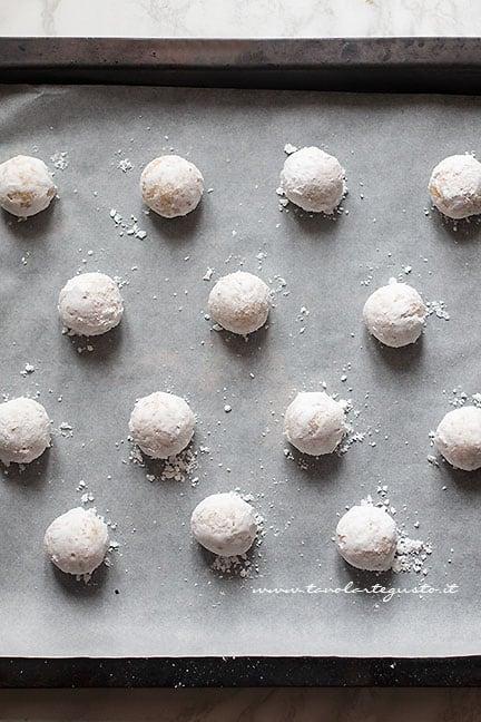 biscotti morbidi al limone pronti da cuocere -Ricetta Biscotti al limone