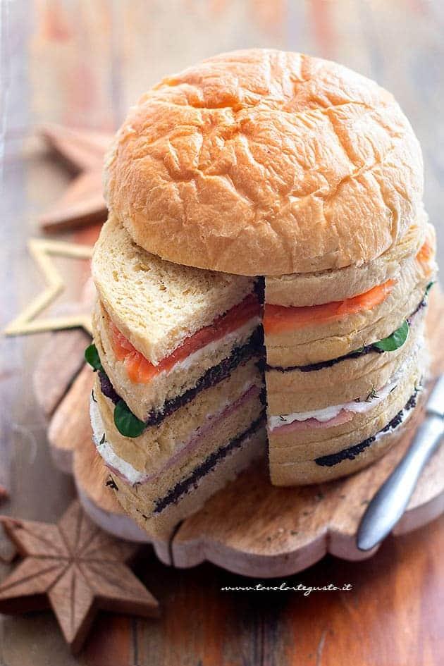 come farcire il panettone gastronomico - Ricetta Panettone gastronomico salato