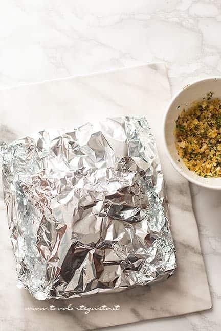 cuocere il salmone al forno - Ricetta Salmone al forno