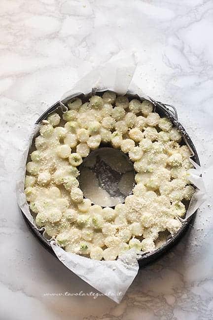 cuocere il timballo di maccheroni al forno - Ricetta Timballo di pasta