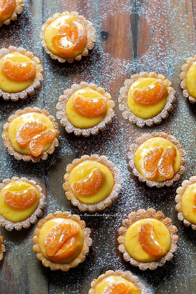 Cestini agli agrumi - Ricetta Cestini di frutta invernale (arancia, clementine, mandarino)