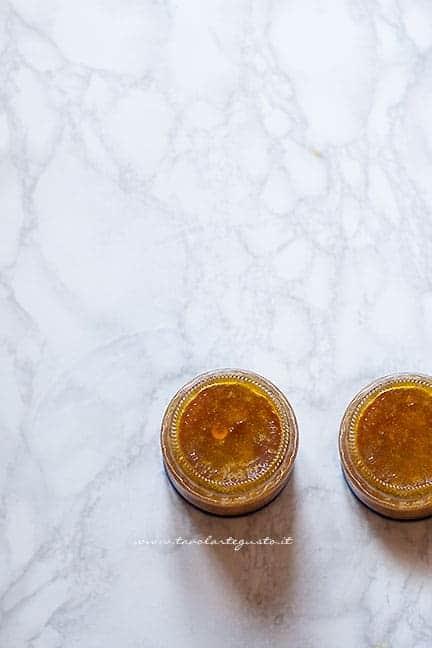 conservare in vasetto la marmellata -Ricetta Marmellata di arance