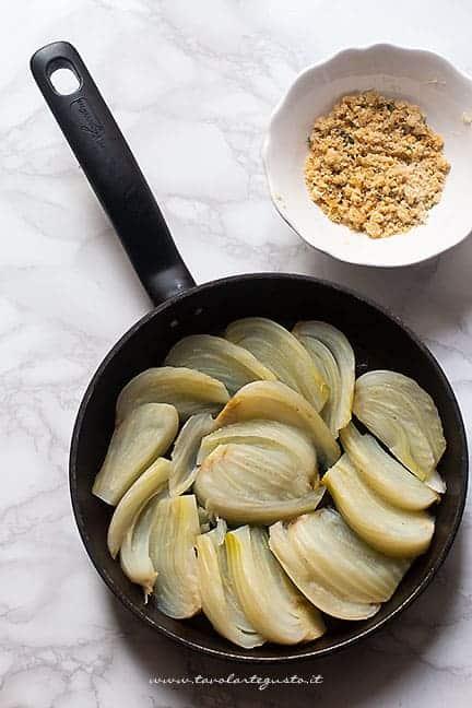 gratinare i finocchi i padella - Ricetta Finocchi in padella