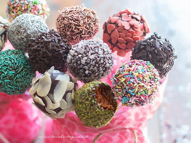 Cake pops - Ricetta Cake pops-