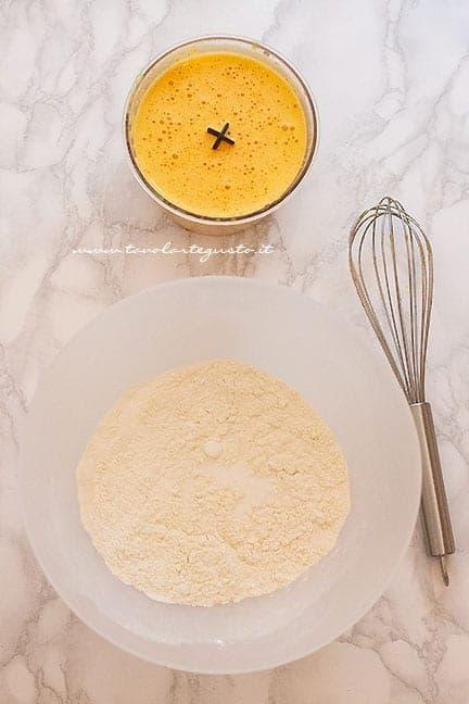 Frullare le carote crude con olio e buccia di arancia - Ricetta Torta di Carote