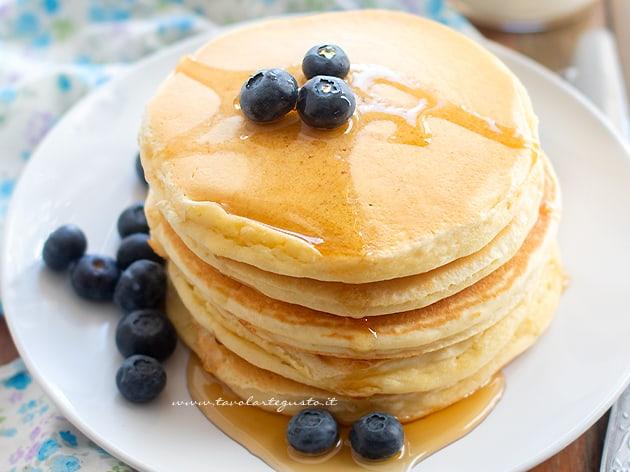 Pancake - Ricetta Pancake-