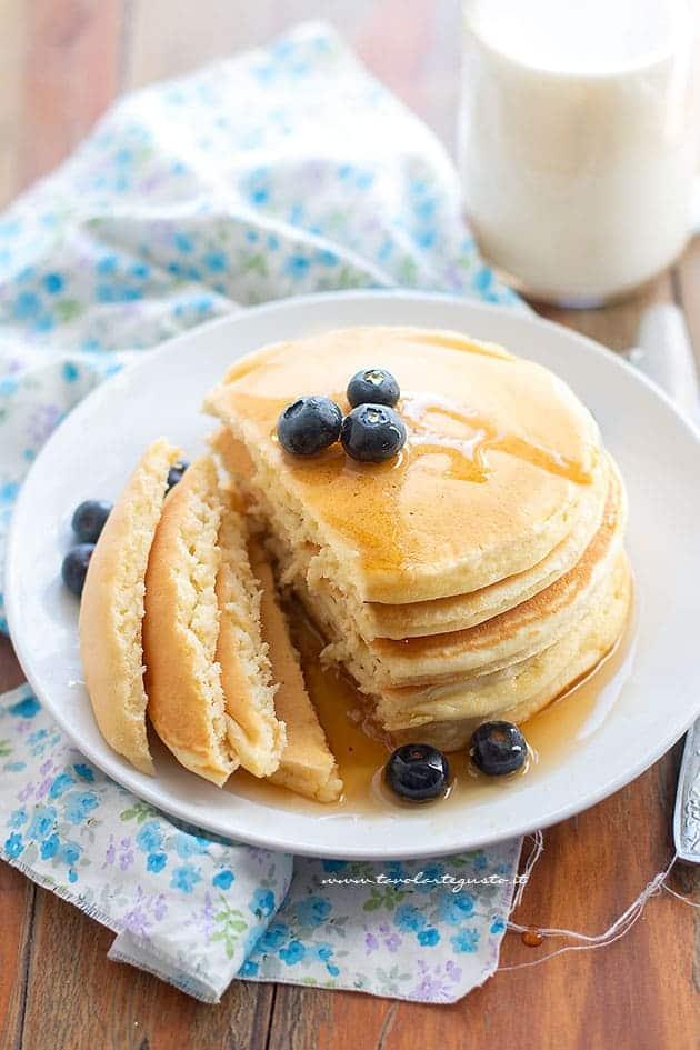 Pancake americani soffici - Ricetta Pancake
