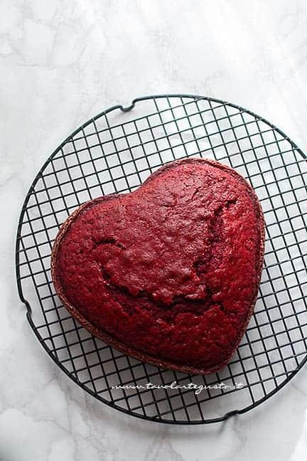cuore red velvet - Ricetta Cuore Red Velvet