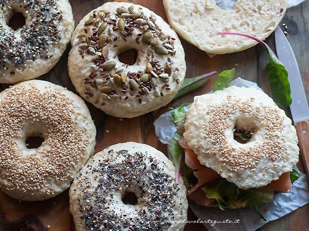 Bagel (Bagels) - Ricetta Bagel-