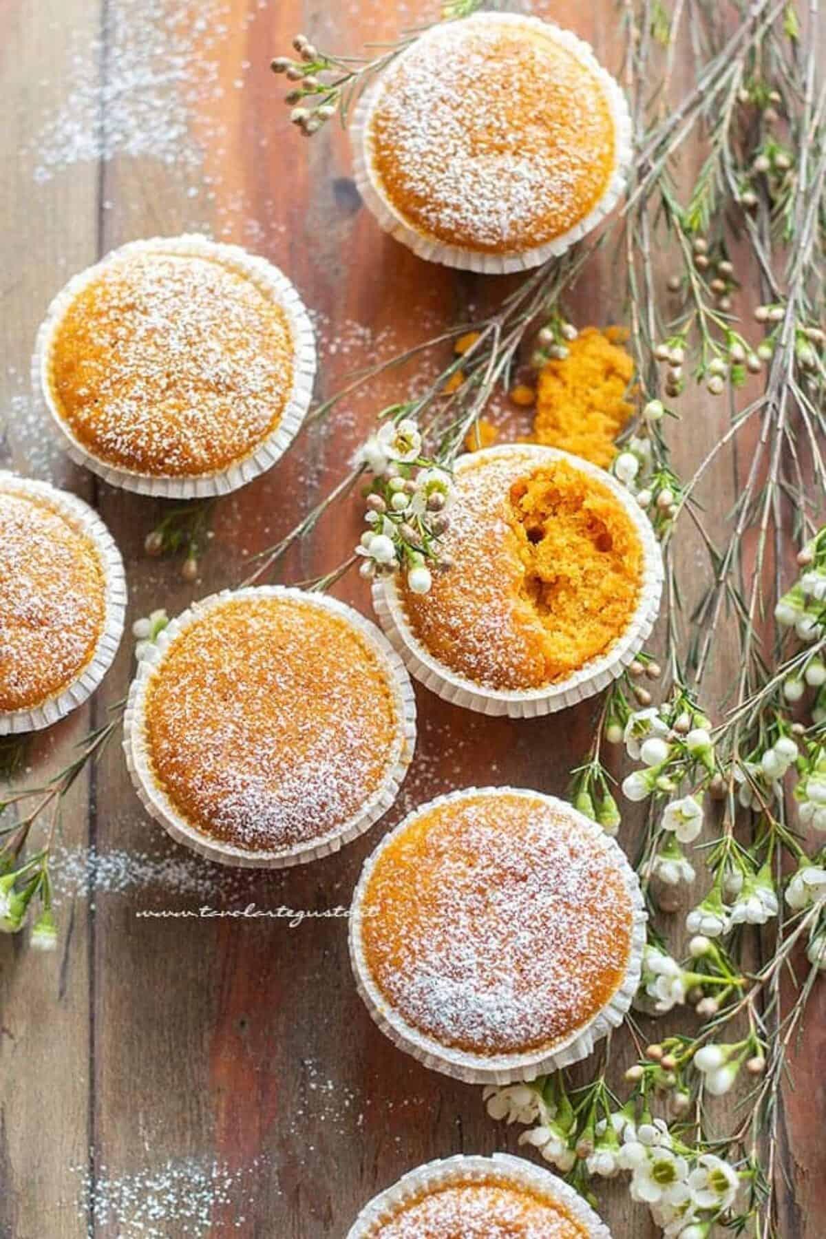 Ricetta Muffin Velocissimi.Muffin Alle Carote Soffici Golosi E Velocissimi Ricetta In 10 Minuti