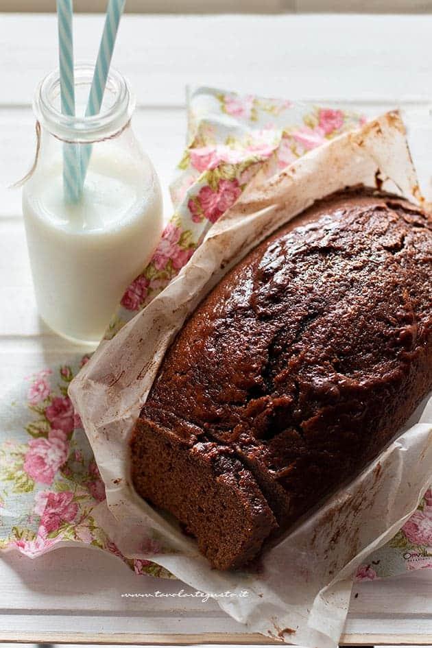 Plumcake al Cacao Soffice con Yogurt! (ricetta Facilissima)