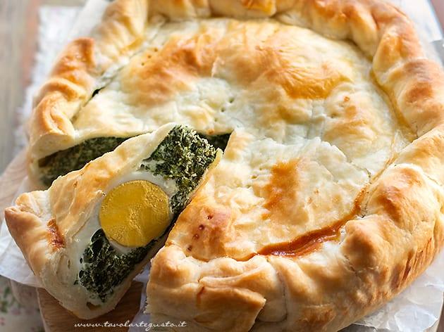 Torta Pasqualina - ricetta Torta Pasqualina-