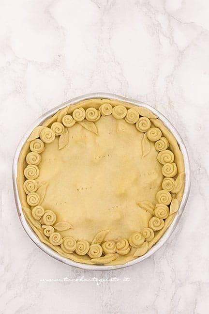 Torta ai carciodi pronta da cuocere - Ricetta Torta di carciofi