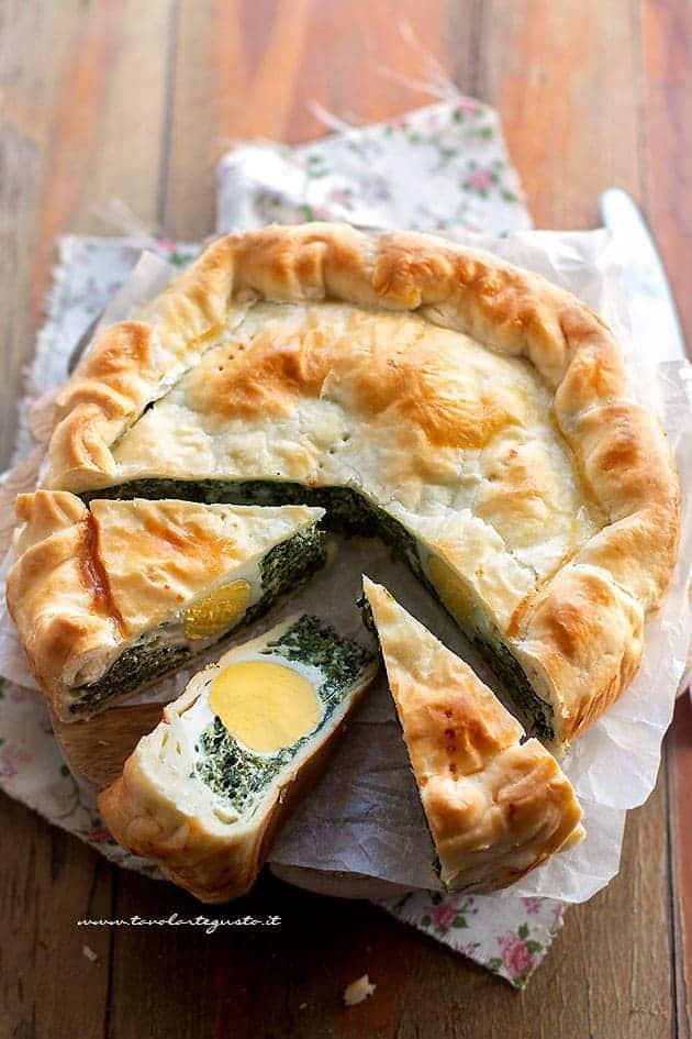 Torta pasqualina genovese - Ricetta originale Torta pasqualina