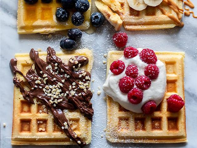 Waffle - Waffles - Ricetta Waffle-