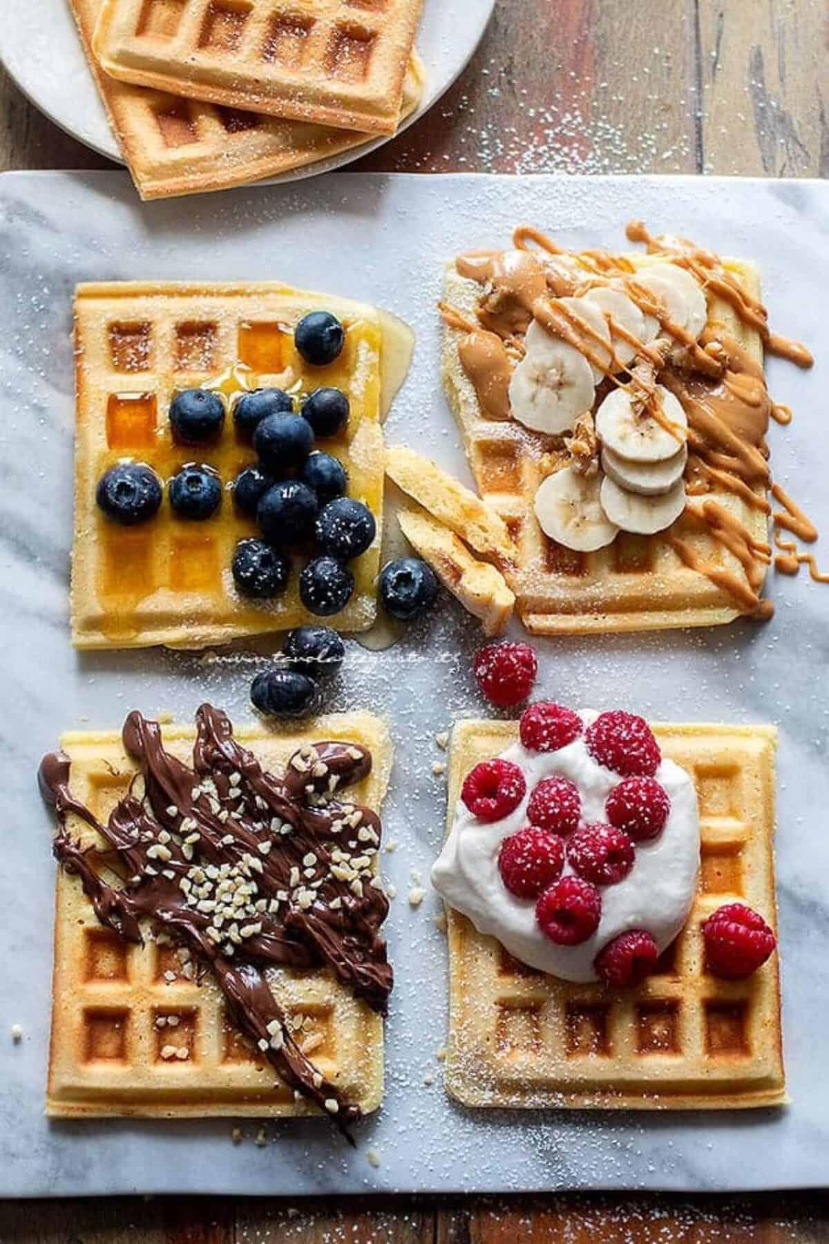 Ricetta Wafer Con Bimby.Waffle Ricetta Originale Waffles Morbidi Golosi E Facilissimi