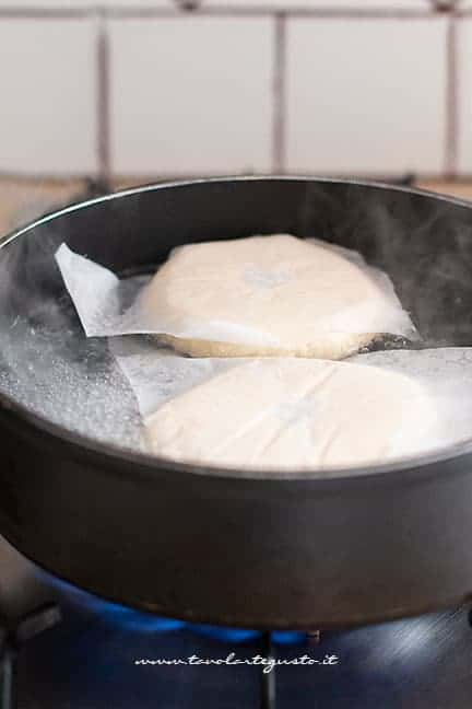 bollire i Bagels - Ricetta Bagel