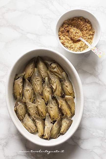 come fare i carciofi al forno - Ricetta Carciofi al forno