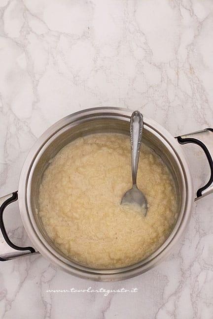 crema di riso e latte - Ricetta Torta di riso