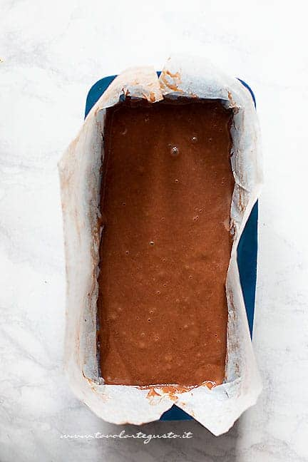 impasto plumcake yogurt e cacao - Ricetta plumcake al cacao