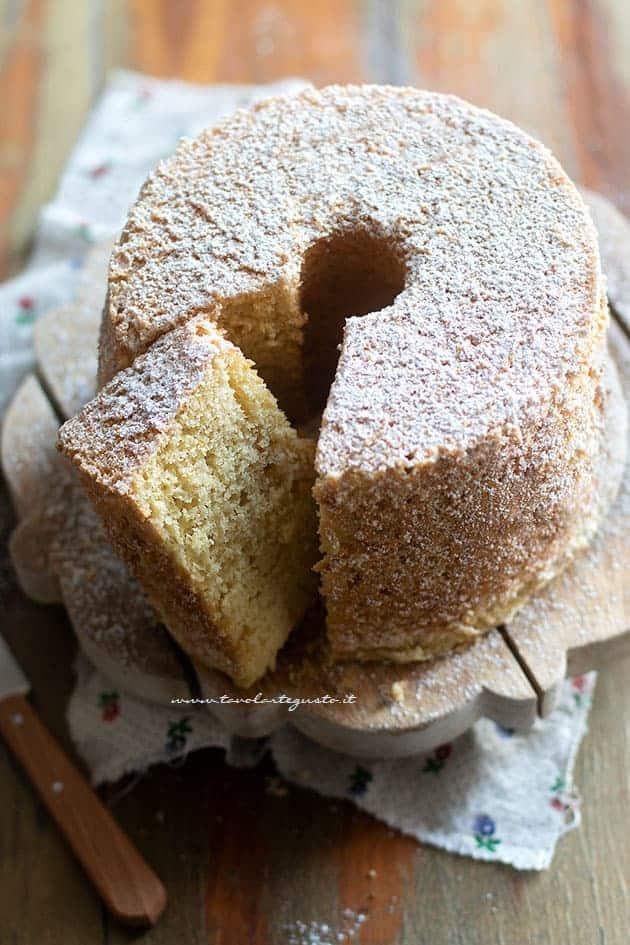 Chiffon cake (ciambellone americano) - Ricetta Chiffon cake