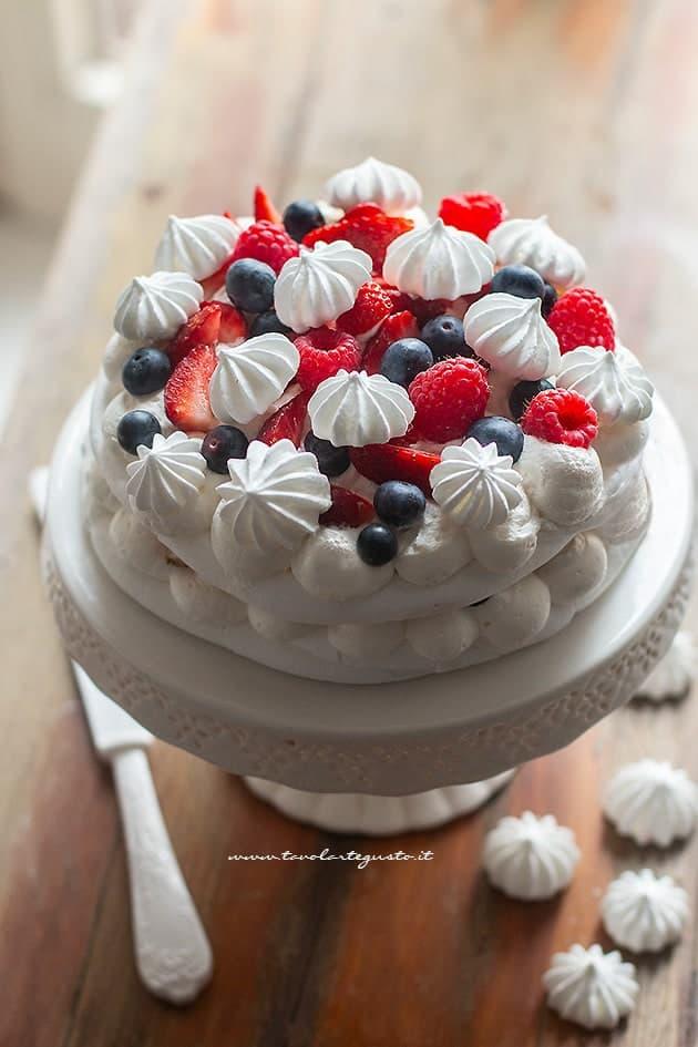 Meringata - Ricetta Torta meringata