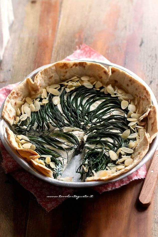 Torta salata di piadina - Ricetta Torta salata di piadina