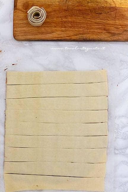 farcire la pasta sfoglia con la nutella - Ricetta Colomba alla nutella senza lievitazione
