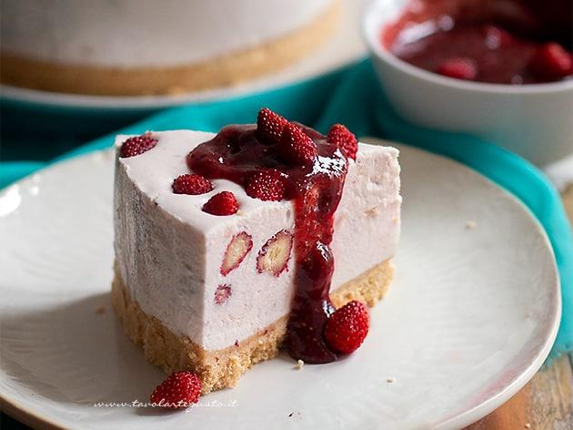 Cheesecake fredda e senza cottura
