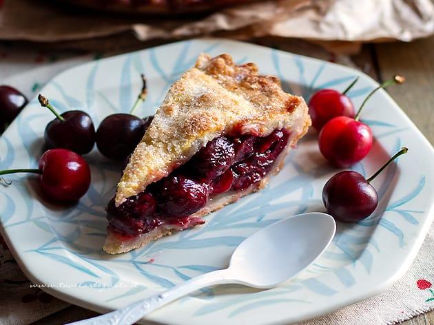 Cherry pie - Ricetta originale Cherry pie americana-