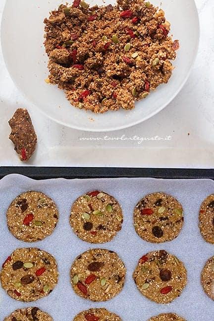 Come formare i biscotti - Ricetta biscotti light e dietetici
