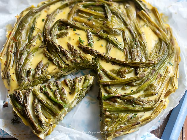 Frittata di asparagi - Ricetta Frittata di asparagi-