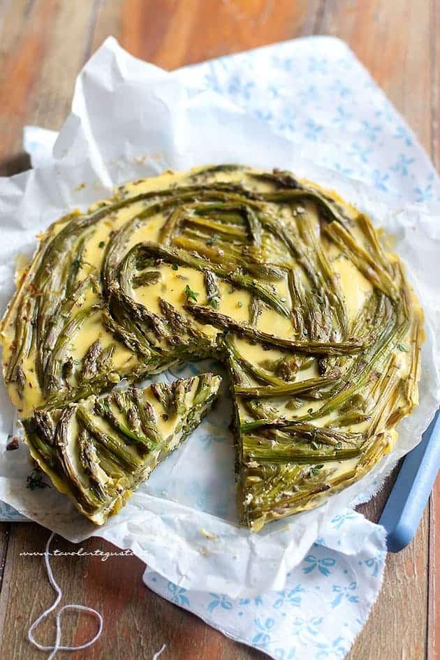 Frittata di asparagi - Ricetta Frittata di asparagi