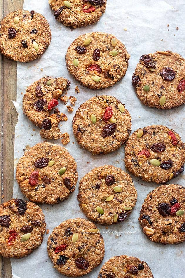 Biscotti Light e Dietetici (senza Zucchero, Senza Burro, Senza Uova Nè Farina!)