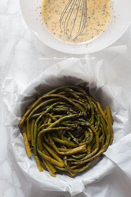 uocere asparagi a vapore - Ricetta Frittata di asparagi