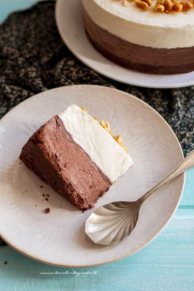 Fetta di Torta gelato - Ricetta Torta gelato