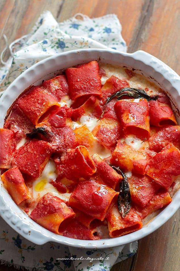 Pasta alla sorrentina - Ricetta originale napoletana
