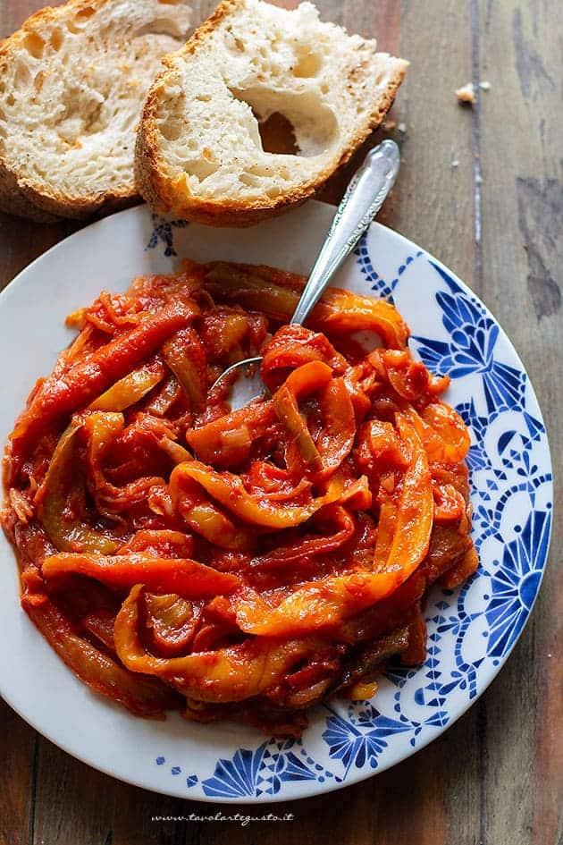 Peperonata - Ricetta originale peperonata