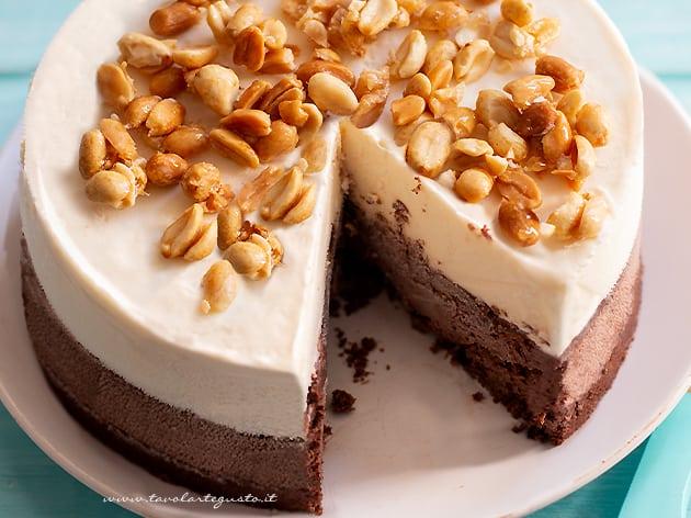 Torta gelato fatta in casa - Ricetta Torta gelato-