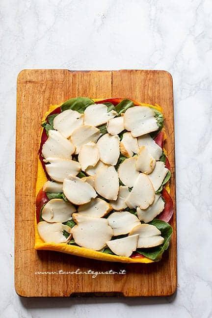 farcire la frittata a piacere - Ricetta Rotolo di frittata