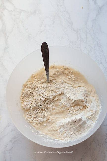 impasto - Ricetta gnocco fritto