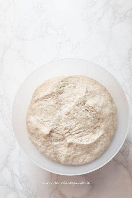 impasto lievitato -Ricetta gnocco fritto